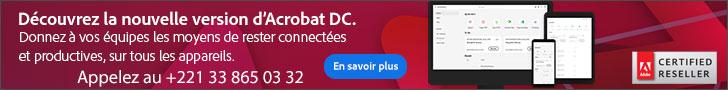 Sene Multimedia Suarl, revendeur certifié adobe au Senegal